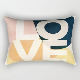 Shapes Of Love #society6 #love Rectangular Pillow
