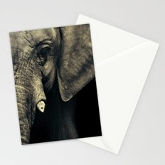 Elephant's face Stationery Cards