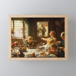 One of the Family by Frederick George Cotman, 1880 Framed Mini Art Print
