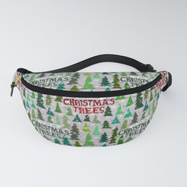 Christmas Tree Farm Fanny Pack