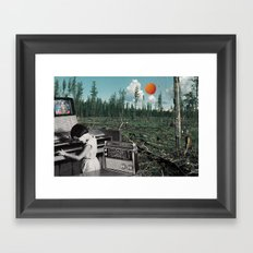 Ballad Of The Wilderness Child Framed Art Print