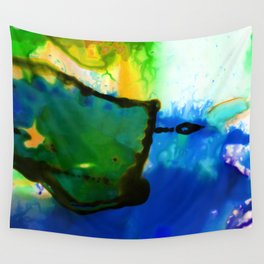 Abstract Bliss 4I by Kathy Morton Stanion Wall Tapestry