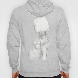 Nude in graphite Hoody