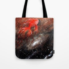 goldfish cosmos Tote Bag