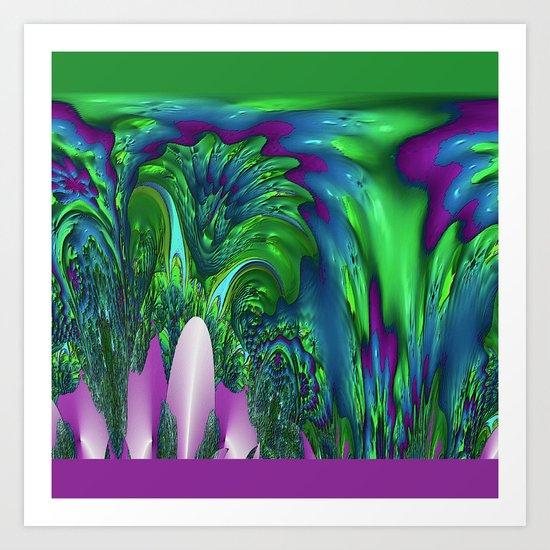 Cataratas Art Print