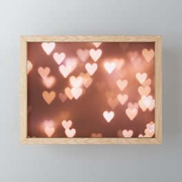 Hearts Framed Mini Art Print