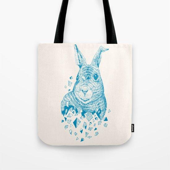Fragments (Rabbit) Tote Bag