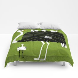 OSTRICH DAD Comforters