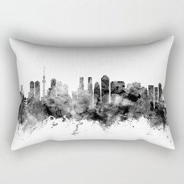 Tokyo Japan Skyline Rectangular Pillow