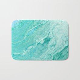 Azure marble Bath Mat