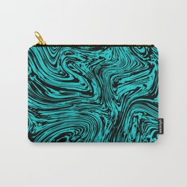 Marble pattern sea wave Carry-All Pouch