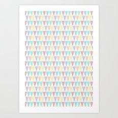 Tri∆ngle Art Print