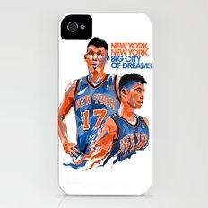 Jeremy Lin: New York, New York, Big City of Dreams. iPhone (4, 4s) Slim Case