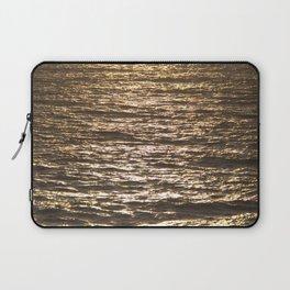 Sun ray on the sea Laptop Sleeve
