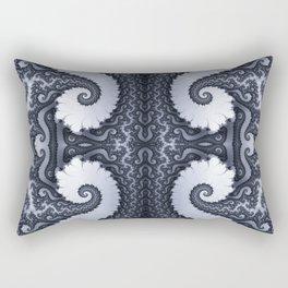 Fractal Art - Glacier I Rectangular Pillow