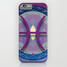 Flower of Life PISCES Astrology Design Slim Case iPhone 6s