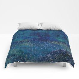 Turquoise Canyon Comforters
