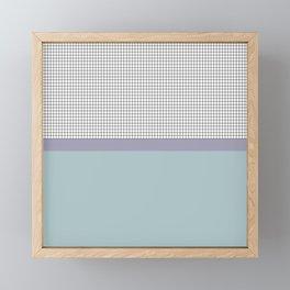 Grid 3 Framed Mini Art Print
