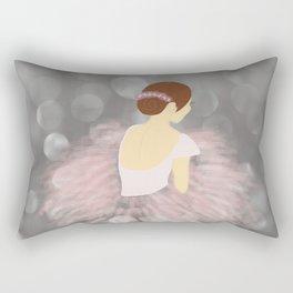 Ballerina Dancer V2 Rectangular Pillow