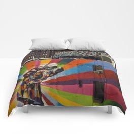 NY Kobra kiss Comforters