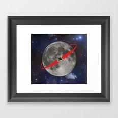 Lunar Lander Framed Art Print