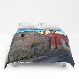 Sicilian Medieval Village (The Godfather/ Francis Ford Coppola/1971) Comforters