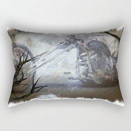 Ghostly Chopper Rectangular Pillow