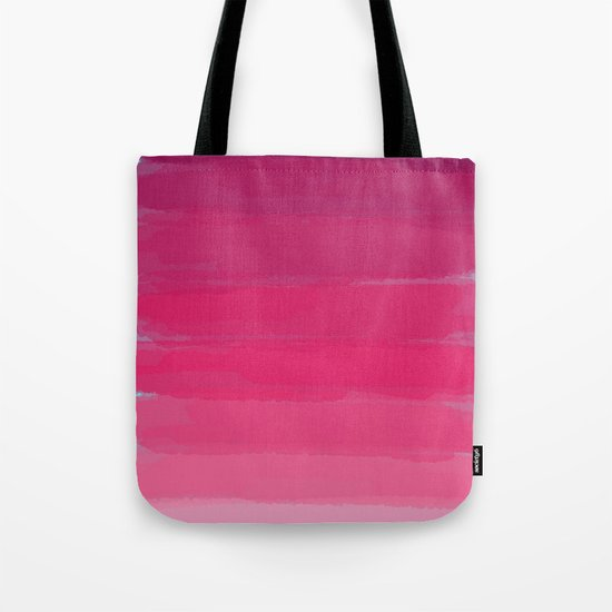 Lipstick: Shades of Pink Gradient Color Study Tote Bag