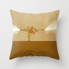 Avatar Aang Throw Pillow
