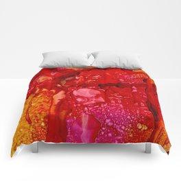 Red Cliff Boulders Comforters