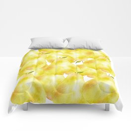 Everybody Pear Up! Comforters