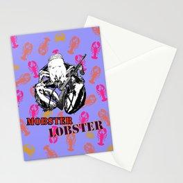 Mobster Lobster Stationery Cards