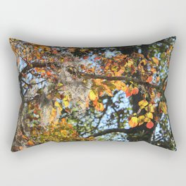 Changing Of The Leaves Rectangular Pillow