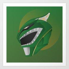 Green Ranger Redux Art Print