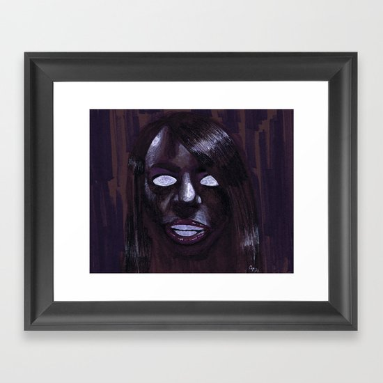 """Angelic Haze"" by Cap Blackard Framed Art Print"