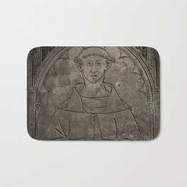 Monk mural Bath Mat