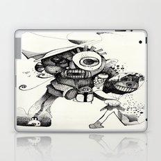 The Mad Hatter B&W Laptop & iPad Skin