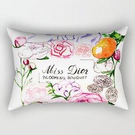 MissDior Perfume Rectangular Pillow
