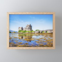 Eilean Donan in Summer Framed Mini Art Print