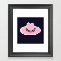 Joanne Hat Framed Art Print