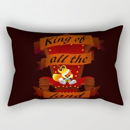 King of all the land Rectangular Pillow
