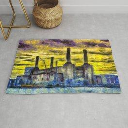 Battersea Power Station Van Gogh Rug