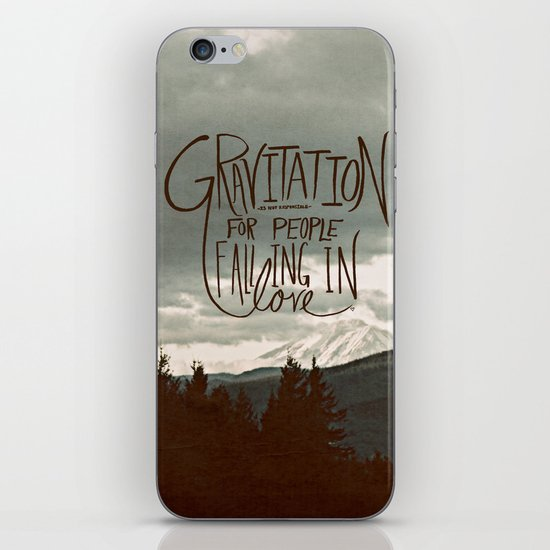 Gravitation iPhone & iPod Skin