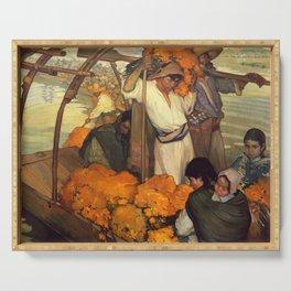 Saturnino Herran - The Offering, 1913 Serving Tray