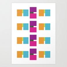 ME ME ME pattern Art Print