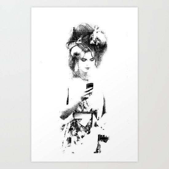 Modern Beau Art Print