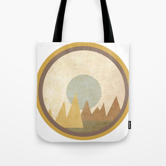 Moon & Mountains Tote Bag