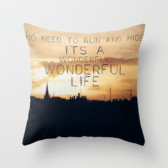 It's A Wonderful Life Throw Pillow