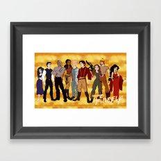 Disney Shinies! Framed Art Print