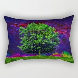 Warped Nature Rectangular Pillow